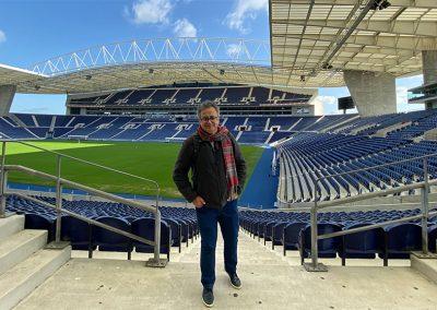 Estádio Dragão, Cidade do Porto, Portugal.